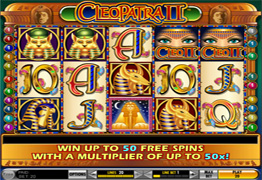 Cleopatra 2 Slot Screenshot