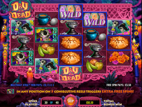 Day of the Dead Slot Screenshot