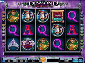 Diamond Queen Slot Screenshot