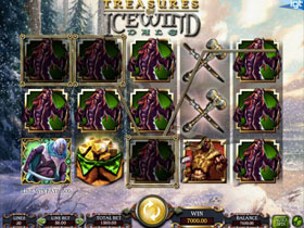 Dungeons and Dragons Treasures of Icewind Dale Slot Screenshot