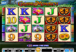 Grand Monarch Slot Screenshot