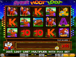 IGT Slot Game - Super Hoot Loot Slot