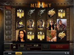 The Mummy Slot Screenshot