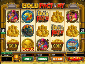 Gold Factory Slot Screenshot